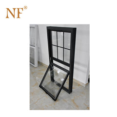 Double hung vertical sliding glass window on China WDMA