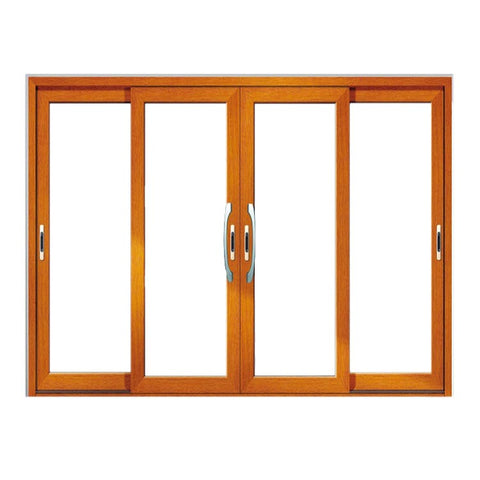 Double leaf sliding aluminum french door on China WDMA