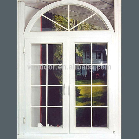 Double pane swing style aluminum doors casement hinged aluminum interior/exterior doors on China WDMA