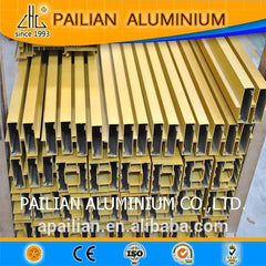 Dubai powder coated aluminium fabrication extruded door and window profiles on China WDMA