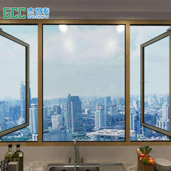 Easy Installation and Longer Life Functional dual sliding window on China WDMA