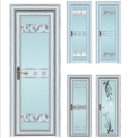 Eco-Friendly Water Resistance Glass Aluminum Swing Door Kitchen Toliet Bathroom Door Designs Kerala on China WDMA