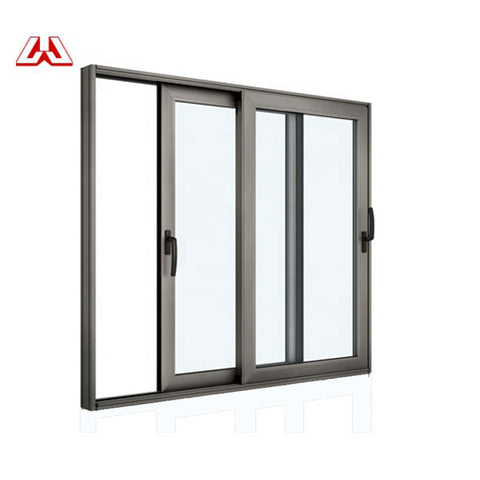 Economic Cheap Price Aluminium Windows And Doors Double Glass Sliding Window Horizontal Pivot Windows on China WDMA