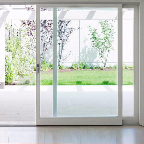 Economic Grill Design PVC Sliding Glass Door, French UPVC Sliding Door on China WDMA