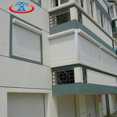 Electric automatic Aluminum awning Roller Shutter roll up windows on China WDMA