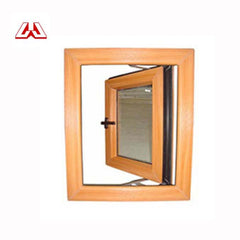 Europe Style Double Hung Decorative Design Steel Security Hinged/hopper PVC Profile UPVC Windows on China WDMA