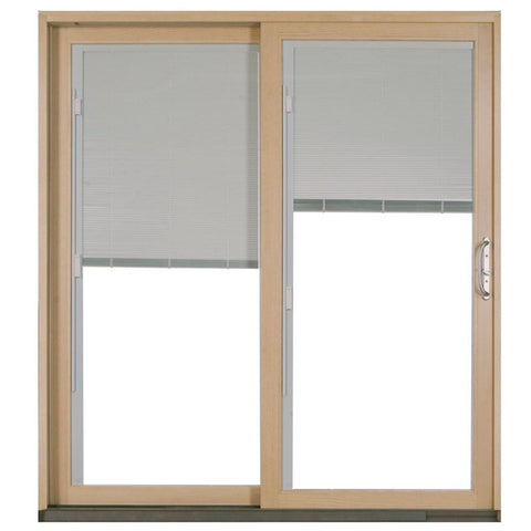 European French Style Golden Color 3 Track Aluminium Sliding Window With Frame Cover on China WDMA