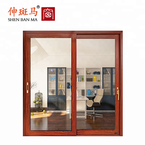 European Style Aluminium French Security Steel Mesh Screen Interior Aluminum Double Swing Door on China WDMA