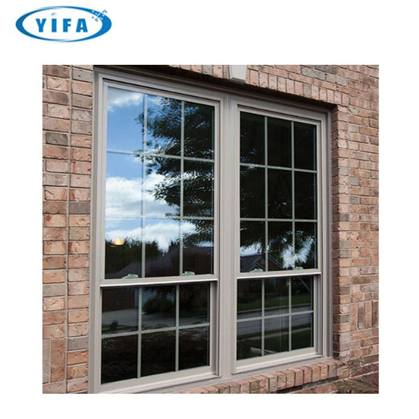 European Style Double Window Vs Single Hung Made In China on China WDMA