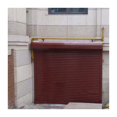 European Style Electric Aluminum Rolling up Domestic Garage Door with motor on China WDMA