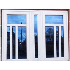 European house style thermal break hurricane impact aluminum french casement windows