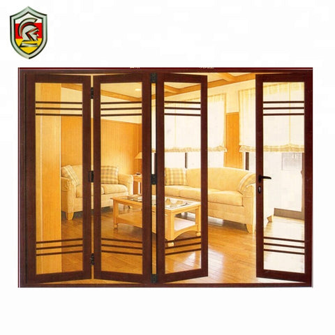 European modern house design soundproof tempered glazed folding doors and windows on China WDMA