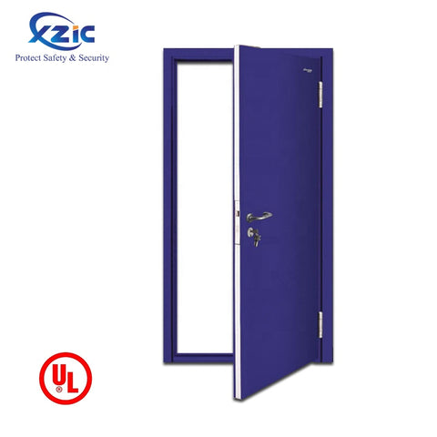 European standard fancy style interior french steel fireproof door on China WDMA