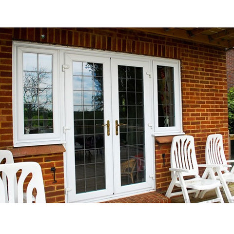 European-style main door grill design French door with grill on China WDMA