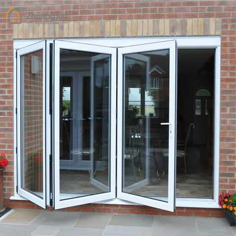 Exterior Aluminum Bi Folding Door on China WDMA