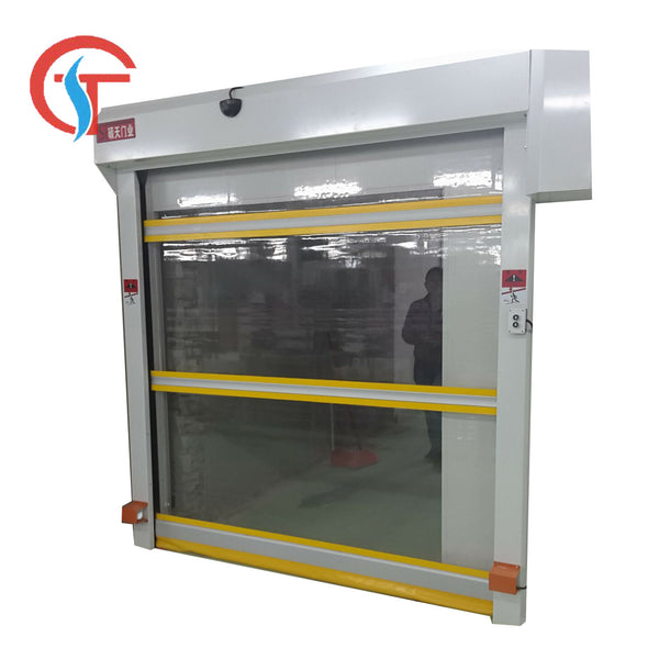 Exterior/Interior Remote PVC Rolling Doors Porte Porte Roulante on China WDMA