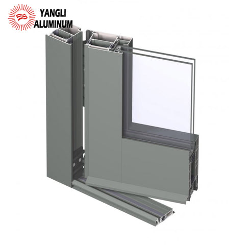 Extruded 6063 aluminum profiles metal doors and windows on China WDMA
