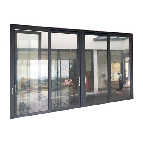 Extruded Aluminum Door Frame/Aluminum Residential Door Window 4 Panel Sliding Door on China WDMA