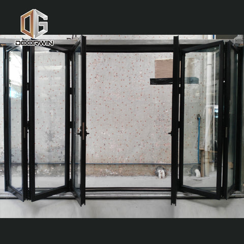 Factory Direct High Quality custom size bi folding doors cost of fitting fold colonial on China WDMA