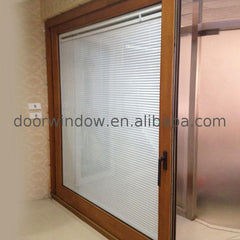 Factory Direct High Quality dual pane sliding patio doors cost of doorwin brown on China WDMA