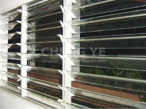 Factory Direct Sales Louver Window 6mm 8mm Blind Jalousie Glass For Ceiling on China WDMA