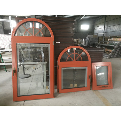 Factory Direct Sales half moon window shutters frosted privacy panes on China WDMA