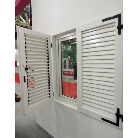Factory Price PVC Plantation Shutters PVC Silding Shutters Window Bifold Shutters from China on China WDMA