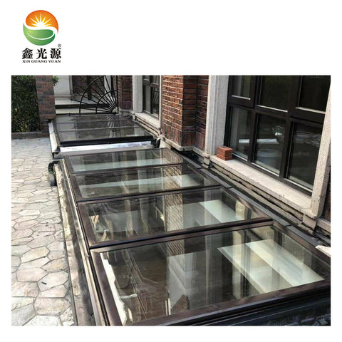 Factory aluminum glass roof system with low price basement window on China WDMA