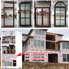 Factory direct selling windows that open outward window swings out locks for crank on China WDMA