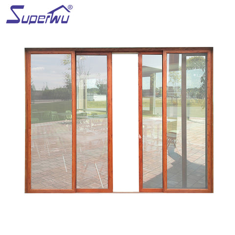 Factory direct supplier sound proof french doors slidng door sliding upvc systems on China WDMA