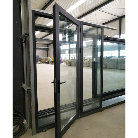 Factory direct supply side hung casement window on glass curtain wall revit door