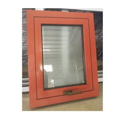 Factory direct wood roller shades for windows effect aluminium with inside glass on China WDMA