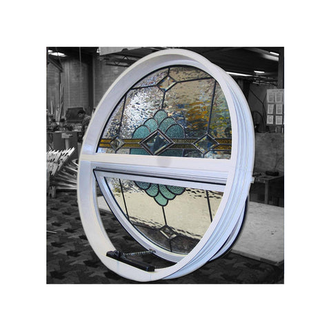 Factory price fashional aluminum round window|round arched window|fixed round window on China WDMA