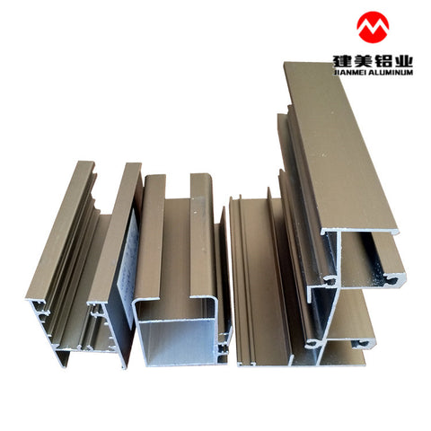 Factory price self-operated aluminum alloy sliding profiles for windows and doors on China WDMA