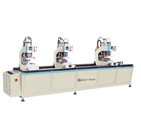 Factory price three heads PVC window welding making upvc windows door machine