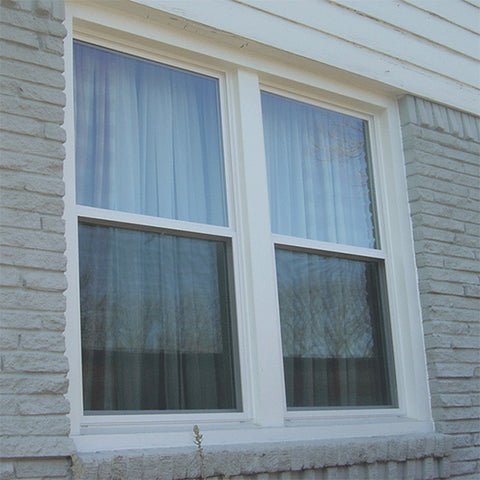 Factory price white color single hung window design for sale on China WDMA