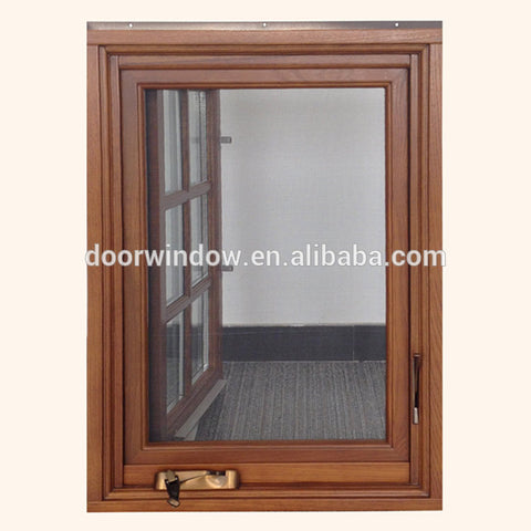 Factory supply discount price window ac for crank windows types of timber triple glazed on China WDMA