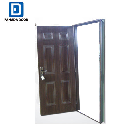 Fangda lowest price steel door better than wpc door on China WDMA