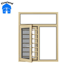 Fast Shipping Shatterproof Casement Windows Aluminium House Crank Out Replacement Windows on China WDMA