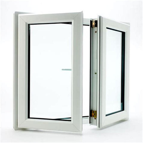 Fire Resistance uPVC Vinyl Double Glazed Swing Casement Windows on China WDMA