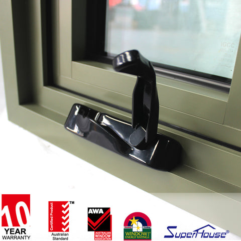 Florida hurricane proof American crank windows tempered glass windows on China WDMA