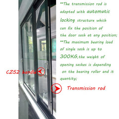 Foshan Manufacturer 3H Lift Slide Door Hardware Accessories System on China WDMA