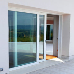 Foshan UPVC white color frosted glass interior french doors on China WDMA