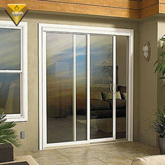 Foshan factory aluminum windows and sliding doors exterior sliding patio doors on China WDMA