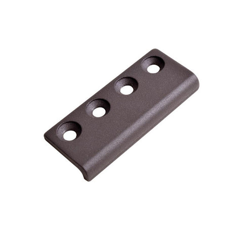 Four Hole Customization Sliding Door Hardware Flat Rail Track Connector for Sliding Door on China WDMA