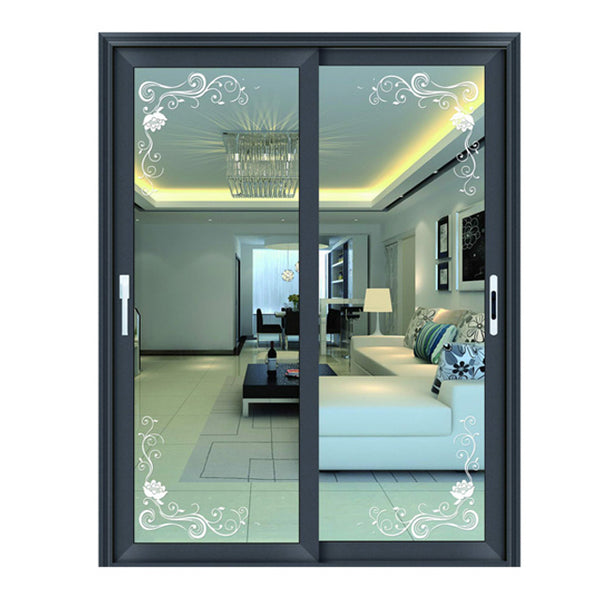 Four panels design cheap sliding patio doors prices on China WDMA