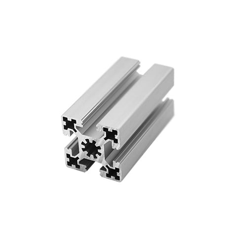 Framed Silver Anodized Industrial Non-standard Sliding Glass Door Frame Aluminum U Slot Profiles on China WDMA