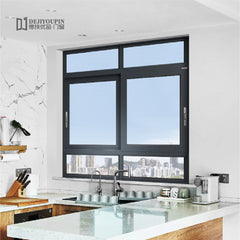 Free Sample Residential project W88 aluminum interior sliding glass balcony kitchen toilet window for sale on China WDMA