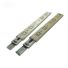 Furniture fittings and accessories drawer glides 2 balls bearing triple extension slide guide for cabinet on China WDMA