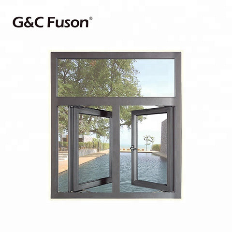 G&C FUSON 50 series Double Glazed Aluminium Casement Window on China WDMA